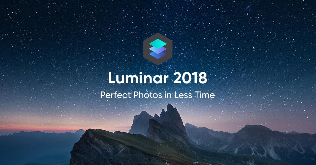 Download luminar 2018 for mac