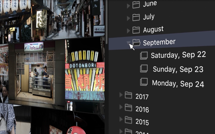Luminar with Libraries Automatically Organizes Your Photos by Date Image3
