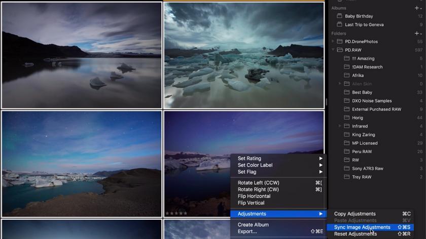 Mit dem neuen Luminar Bilder synchronisieren & stapelweise verarbeiten Image2