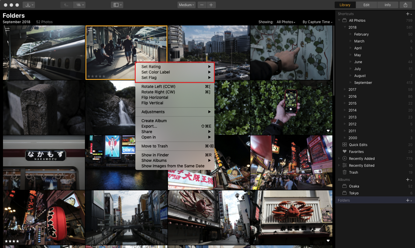 Luminar with Libraries Lets You Label and Rate Your Photos Image2