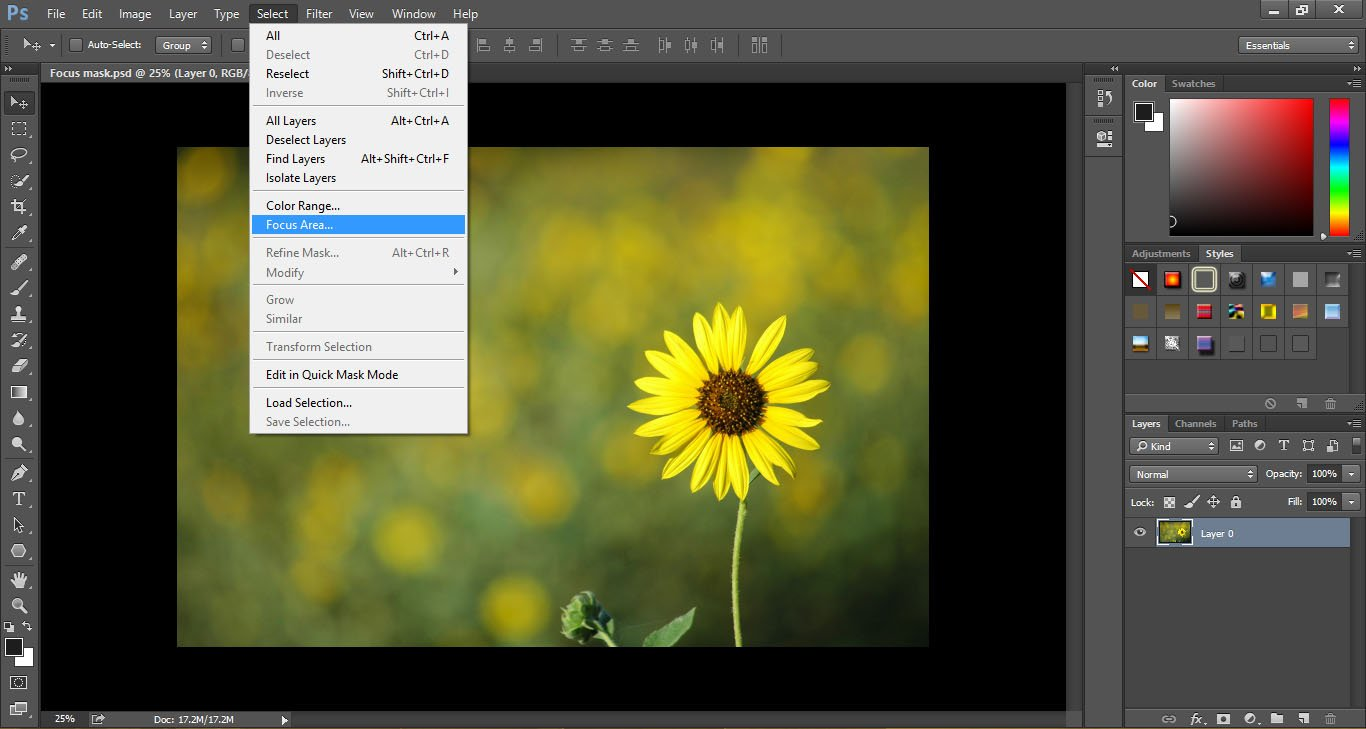 The Easy Way to Change the Color and Adjust a Grey Background in Photo Image2