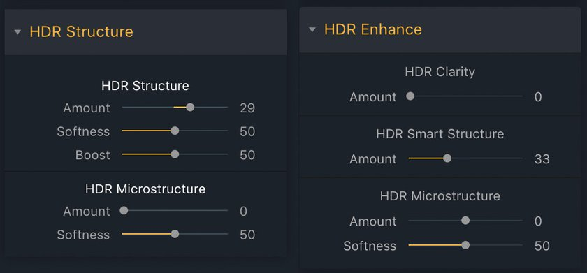 The key differences between Aurora HDR '19 and Aurora HDR '18 Image6