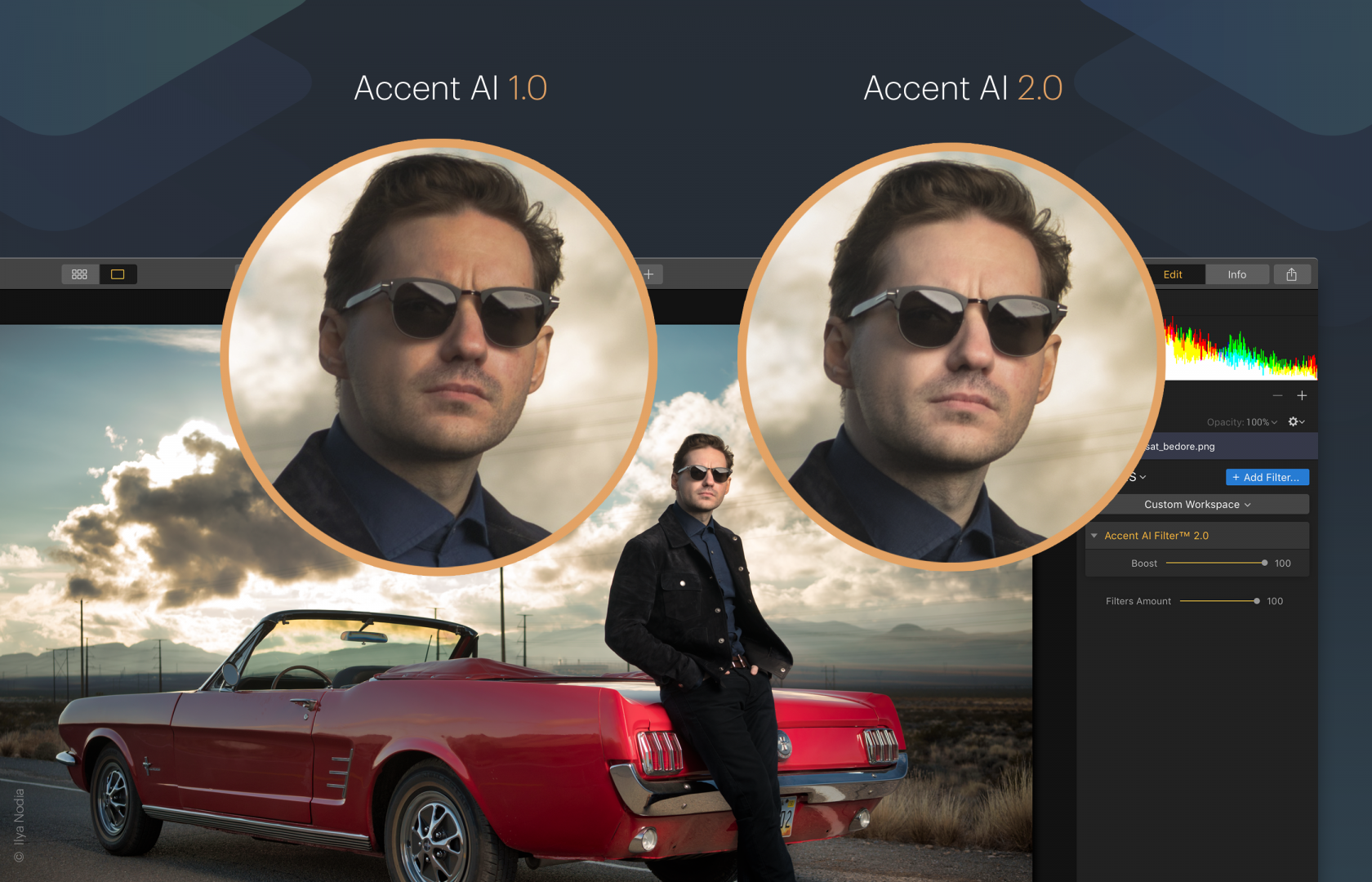 Luminar 3.1.0: Accent AI 2.0 + More Usability & Stability  Image1