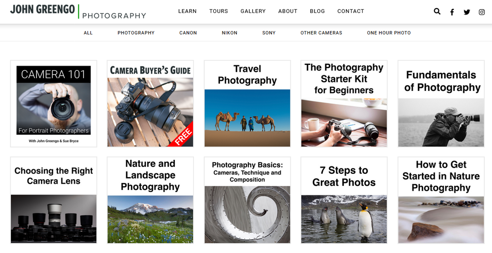 Online Photography Classes: Photography Courses are Just a Click