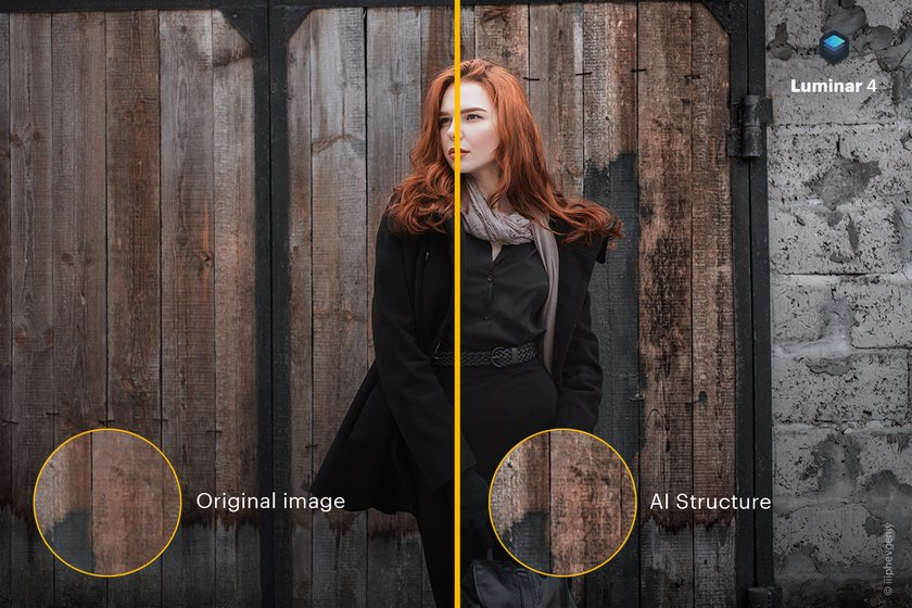 The beauty is in the details: Luminar 4 introduces AI Structure tool Image1