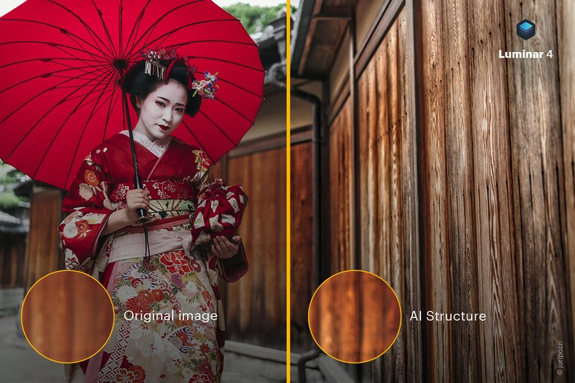 The beauty is in the details: Luminar 4 introduces AI Structure tool Image2