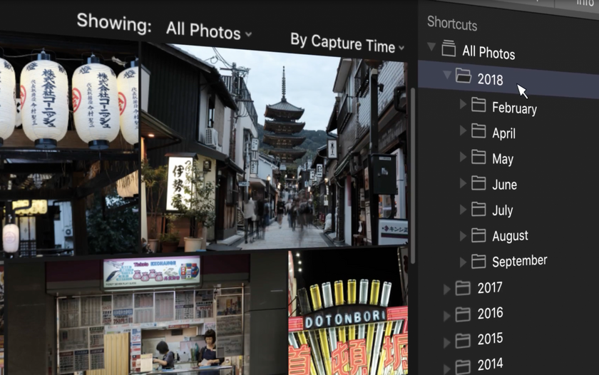 Luminar with Libraries Automatically Organizes Your Photos by Date Image2