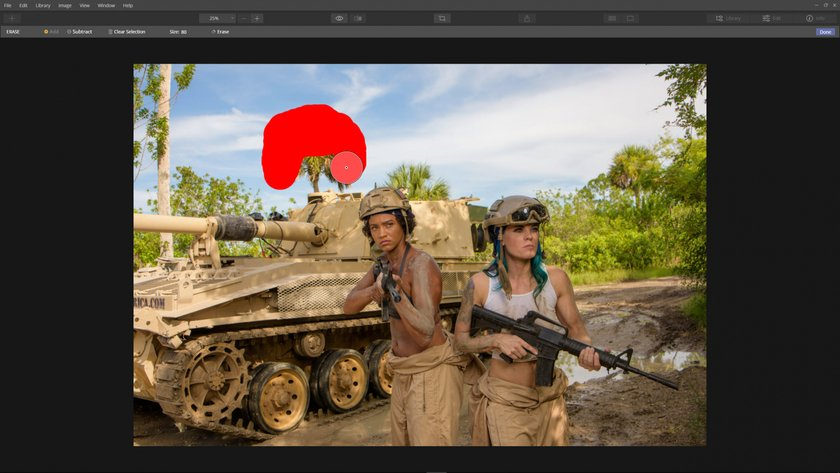 How to edit distractions out of a photo Image2