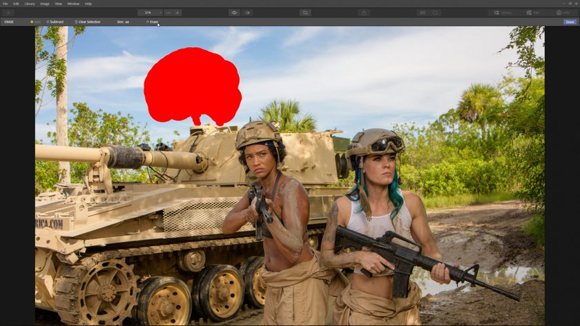 How to edit distractions out of a photo Image4