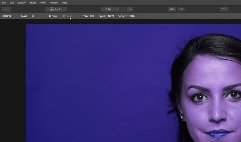 How to change the background color of a photo Image4