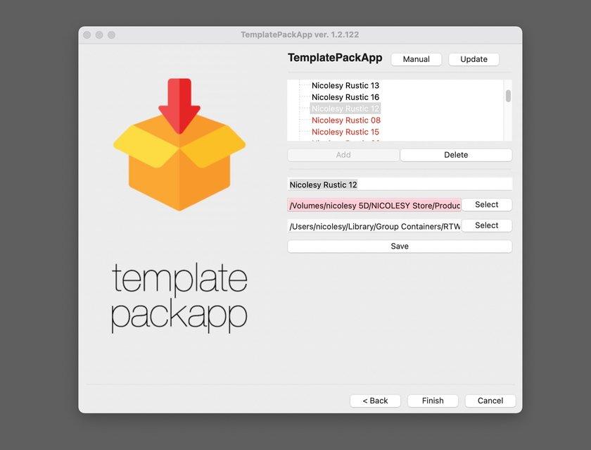 Luminar AI Custom Templates Image21