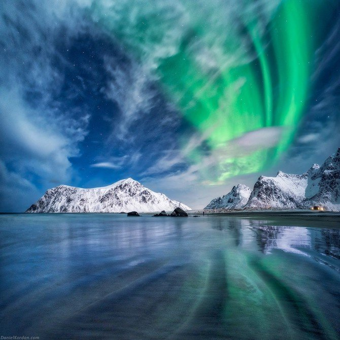 Amazing Aurora Borealis photos Made with Aurora HDR Pro Image7