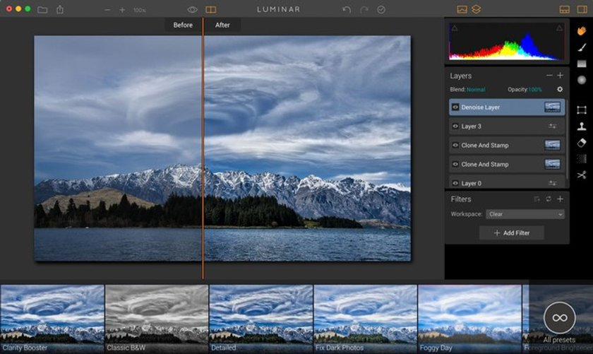 Why Luminar is perfect for Creative Kit users Image3