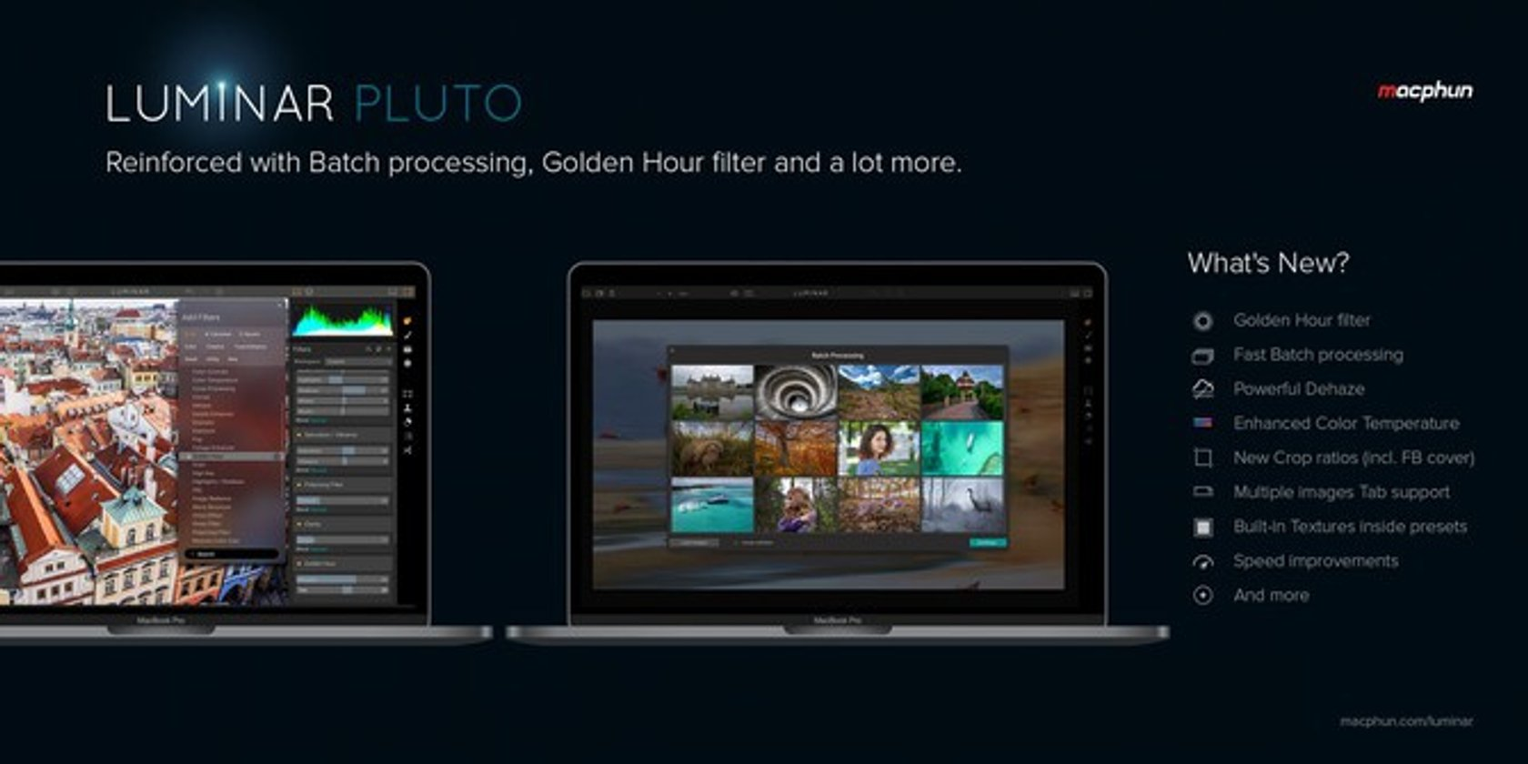 New Luminar Pluto | The best gets even better | Skylum Blog