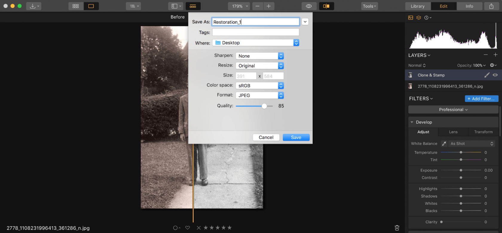 How to Restore Old Photos Image7