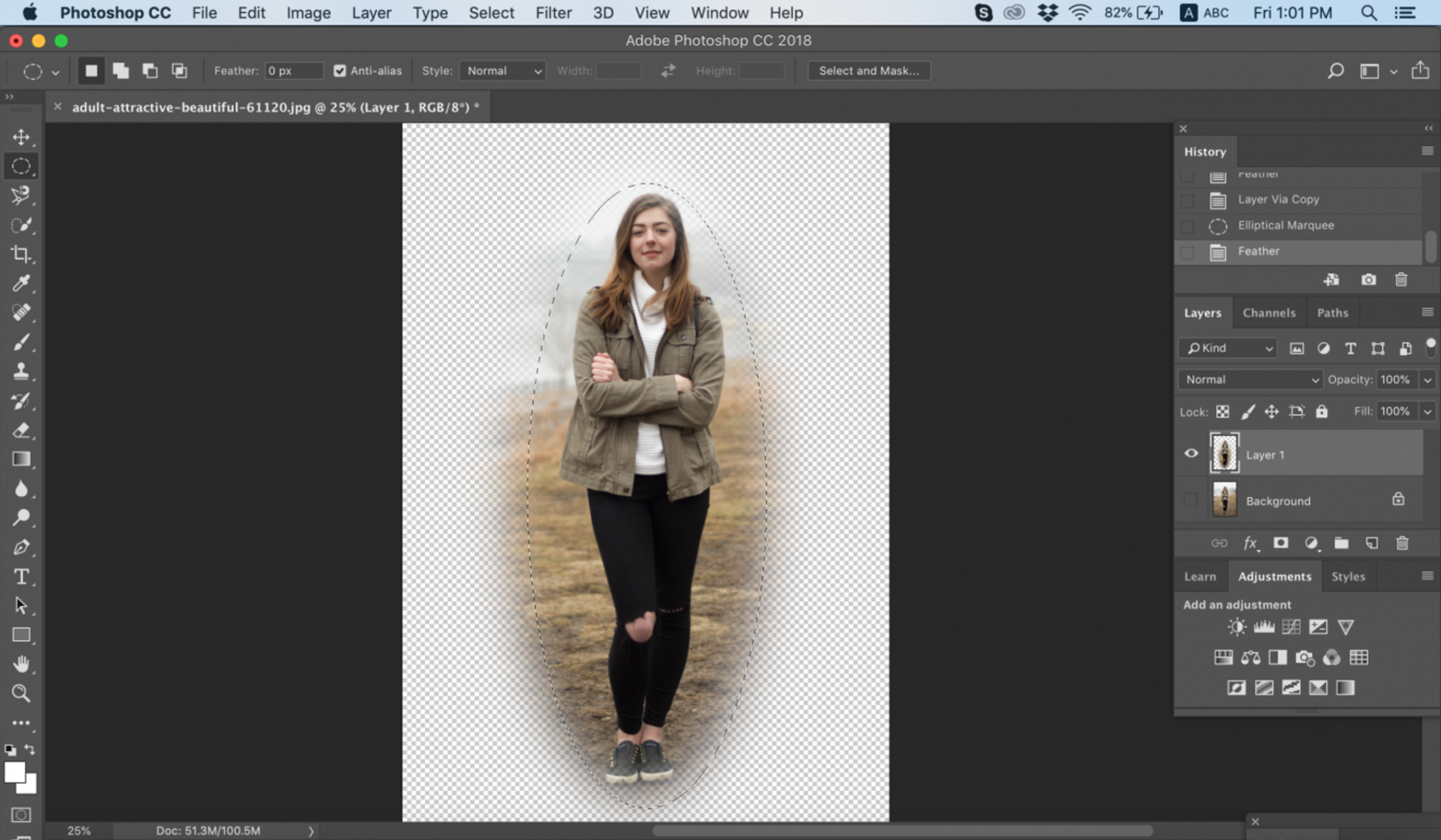 photoshop elements how to smooth edges