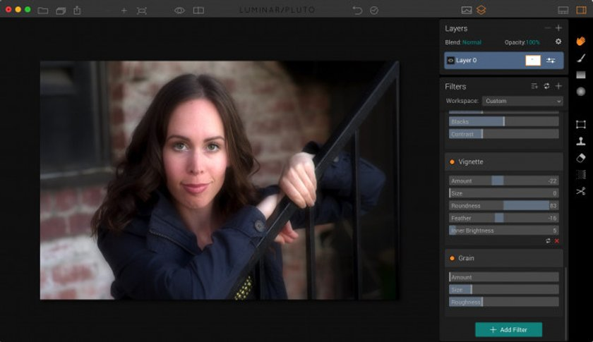 Speed edit portraits with Luminar Image5