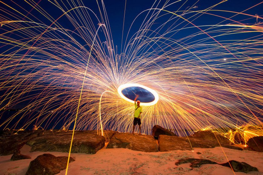 Tips for Creative Steel Wool Photography Image4