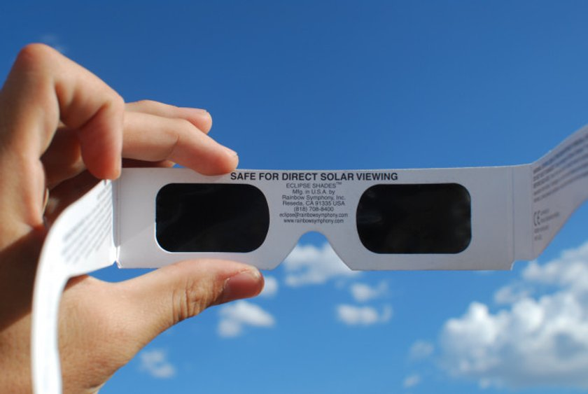 how to make your own solar eclipse glasses nasa