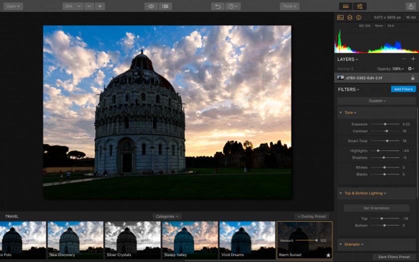 Luminar 2018: Overview & Workflow Image7