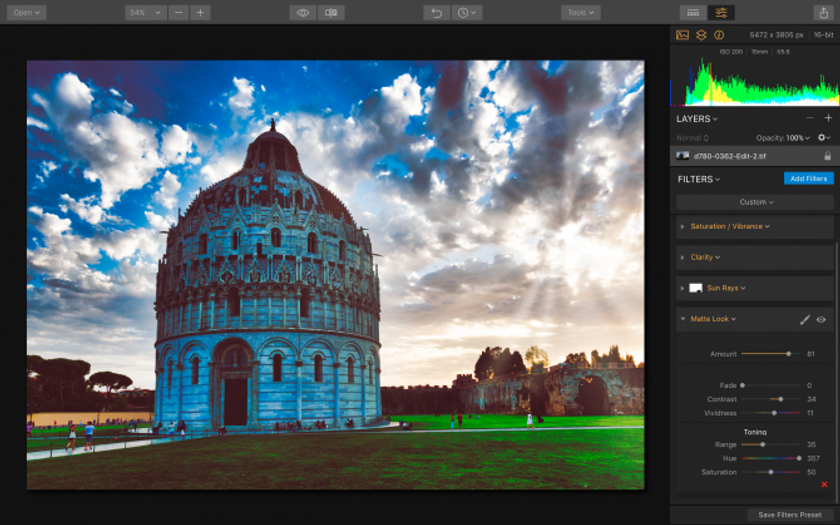 Luminar 2018: Overview & Workflow Image13