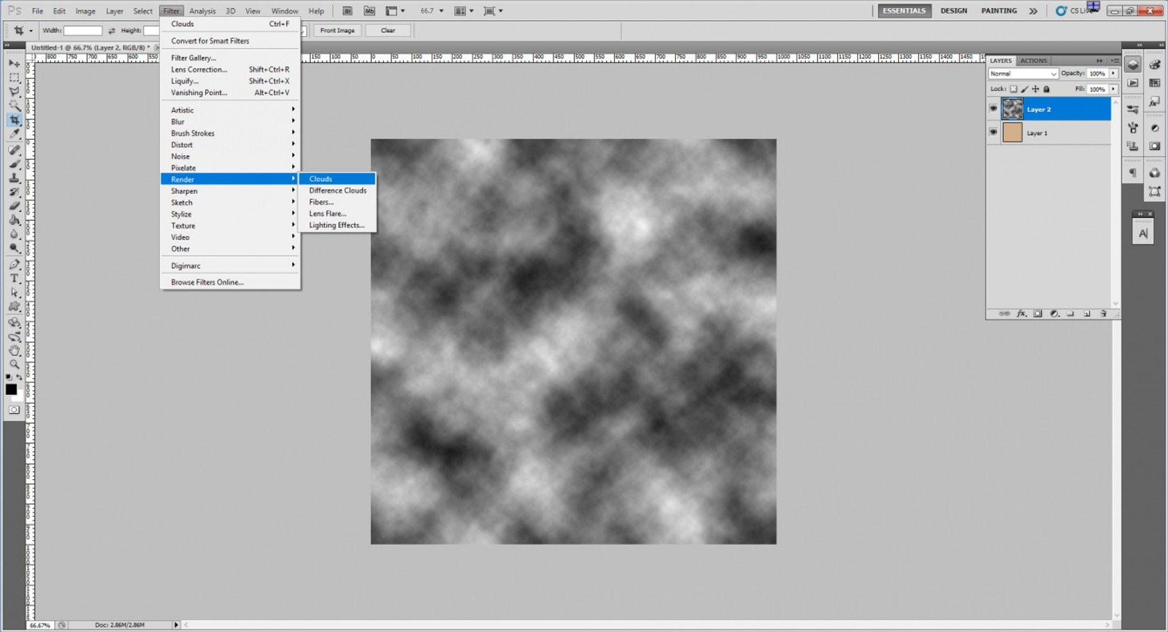 How to Create an Old Paper Texture in Photoshop Image3