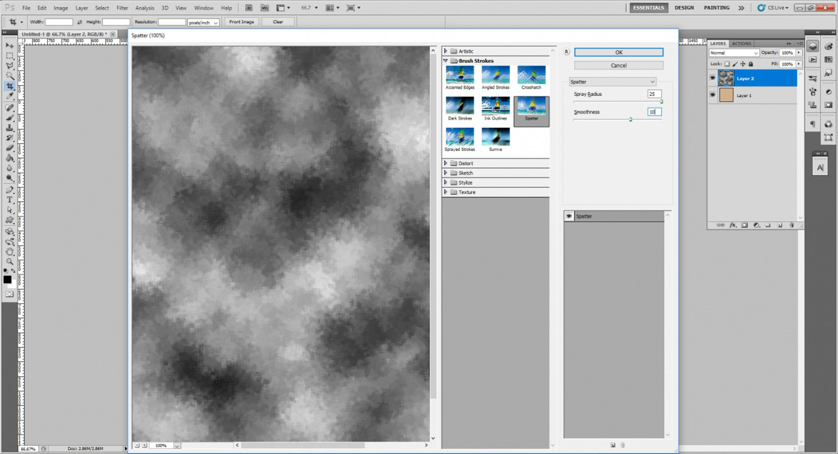 How to Create an Old Paper Texture in Photoshop Image4