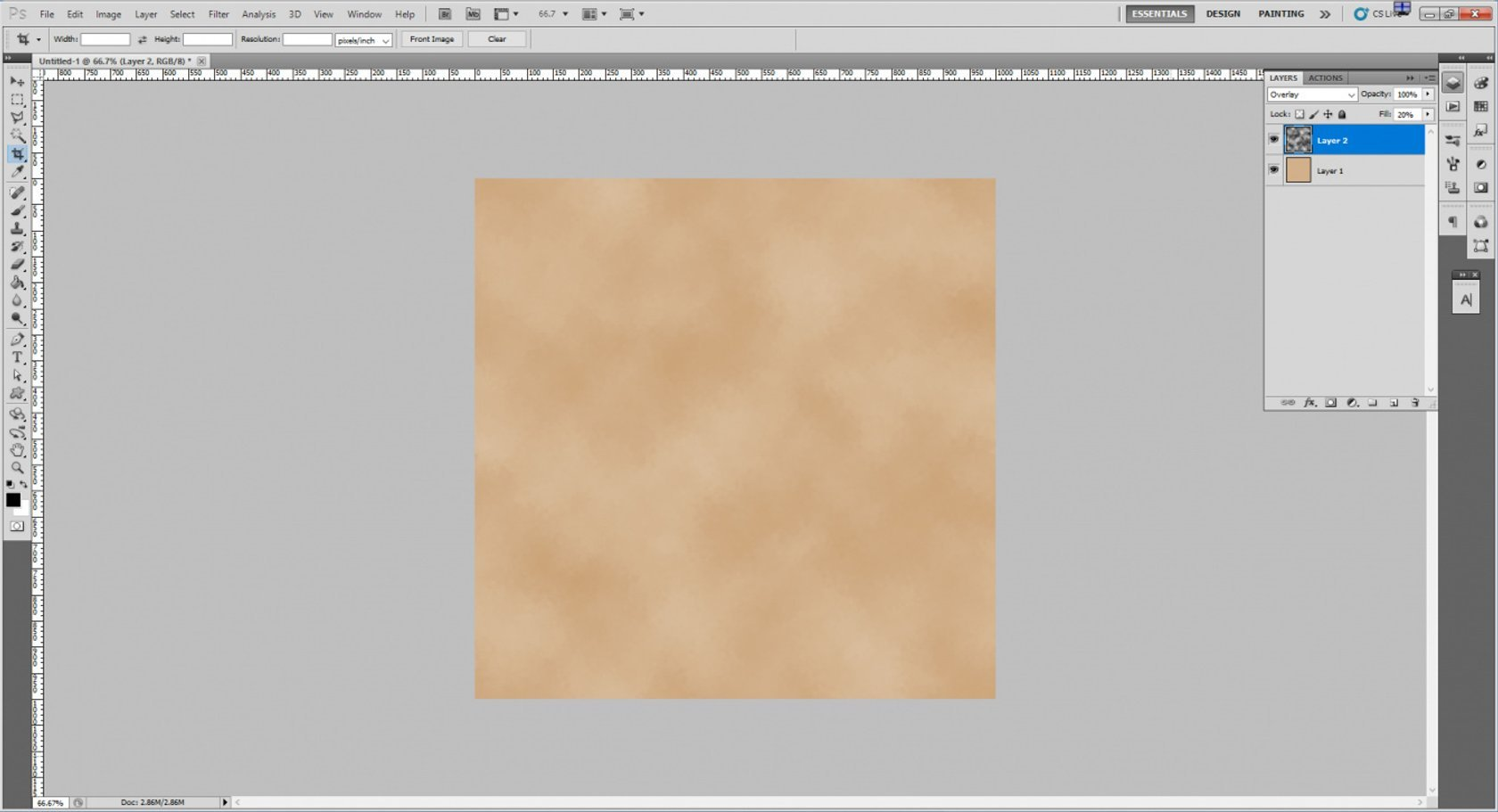 How to Create an Old Paper Texture in Photoshop Image5