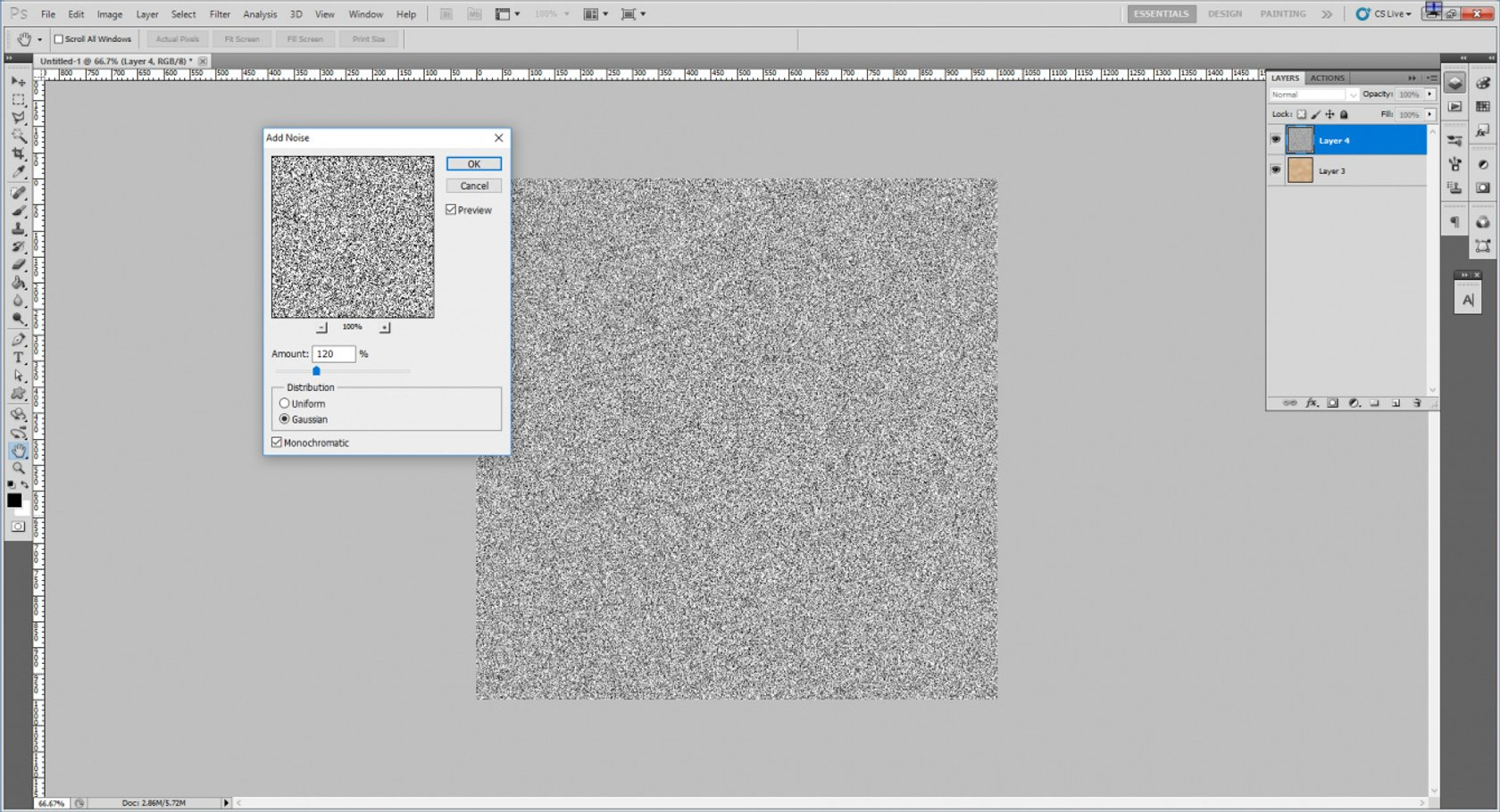 How to Create an Old Paper Texture in Photoshop Image7