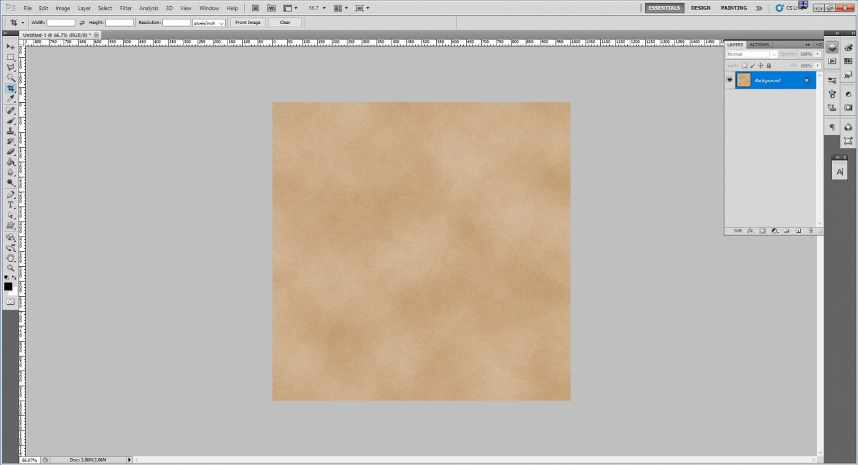 How to Create an Old Paper Texture in Photoshop Image8