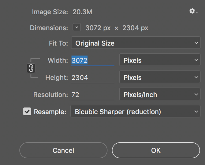 How to Resize an Image Image2