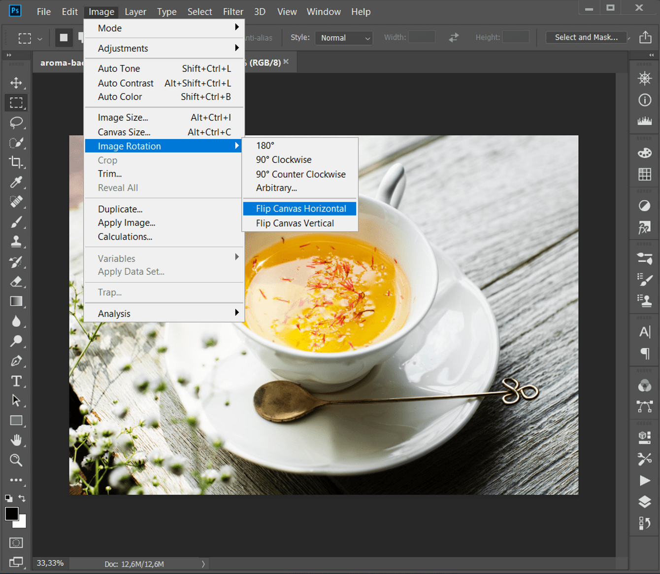how to flip an image in photoshop skylum ex macphun how to
