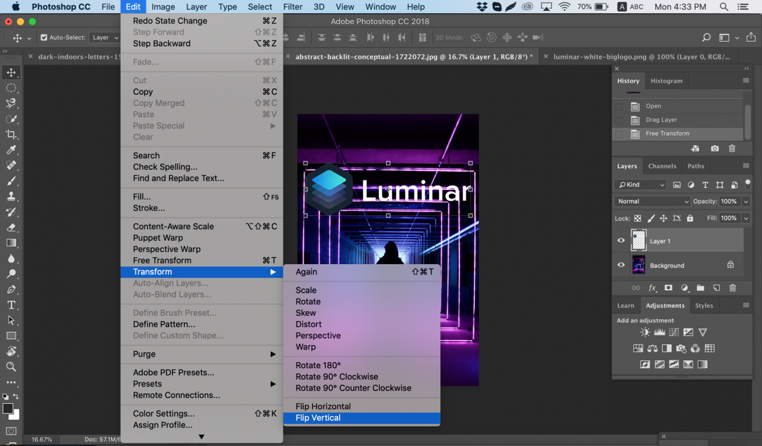 How To Flip An Image In Photoshop Skylum How To