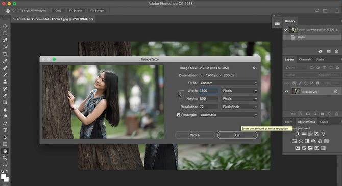 How To Make A Picture Bigger in Different Software Image4