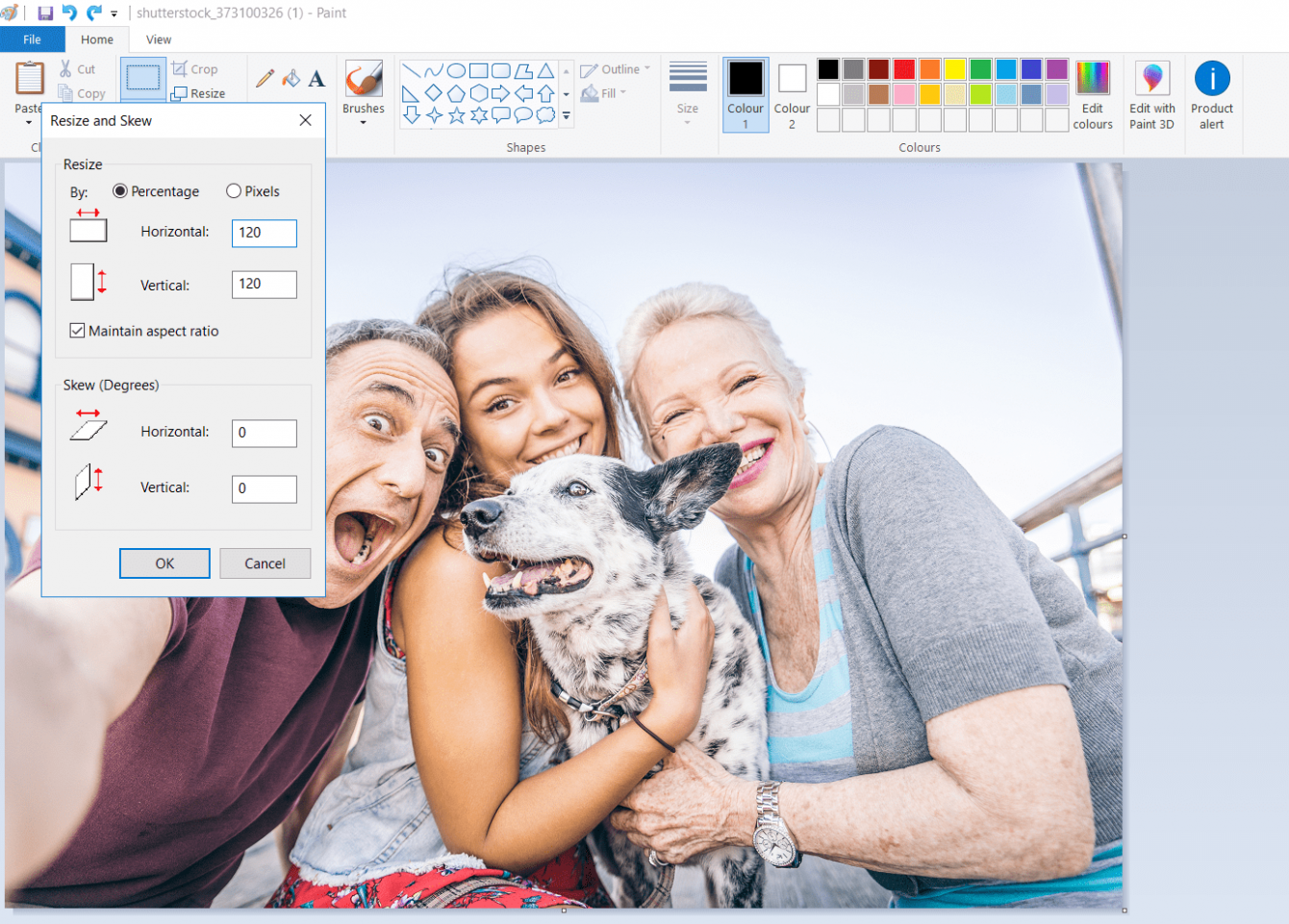 How To Make A Picture Bigger in Different Software Image5