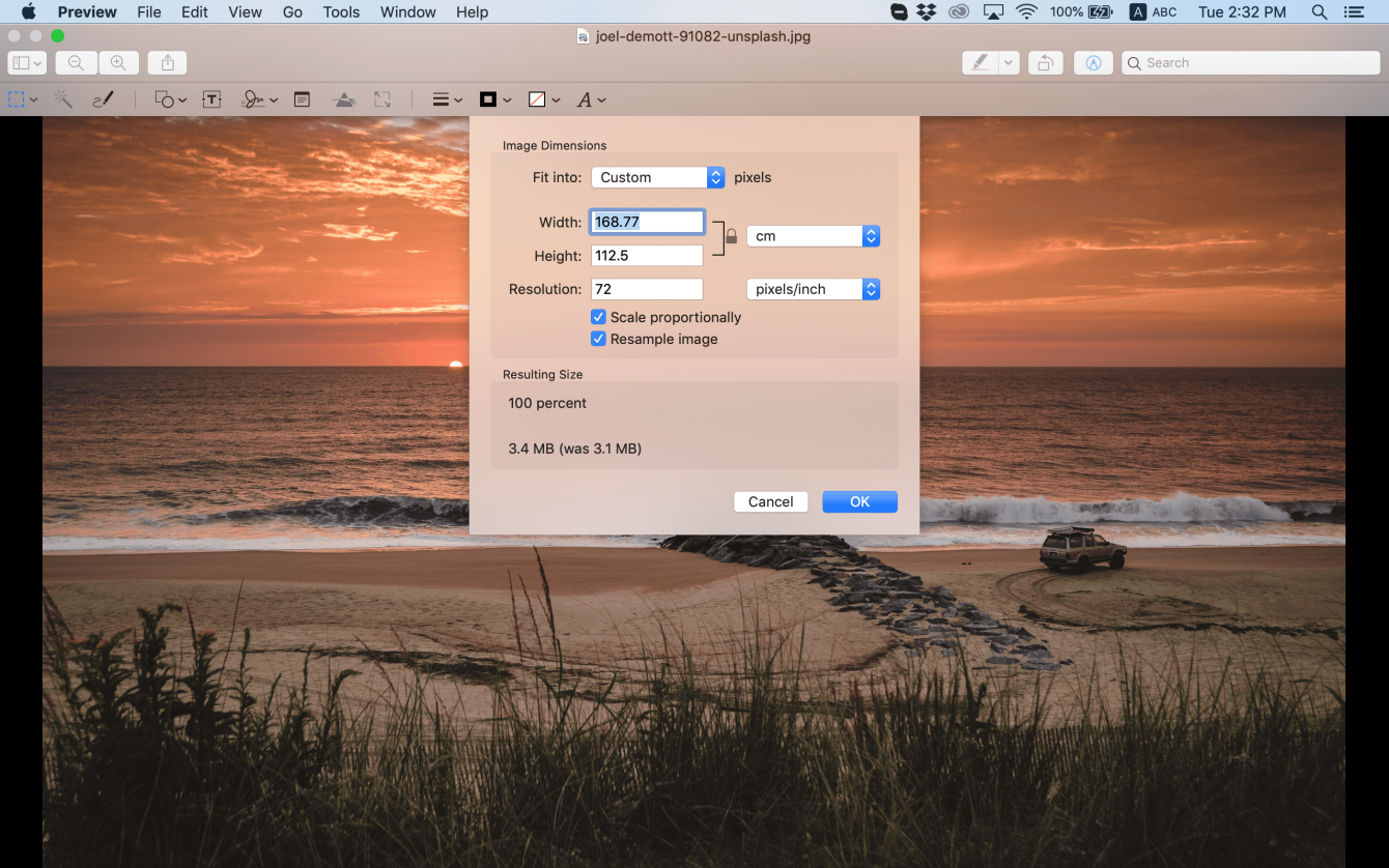 How To Make A Picture Bigger in Different Software Image6