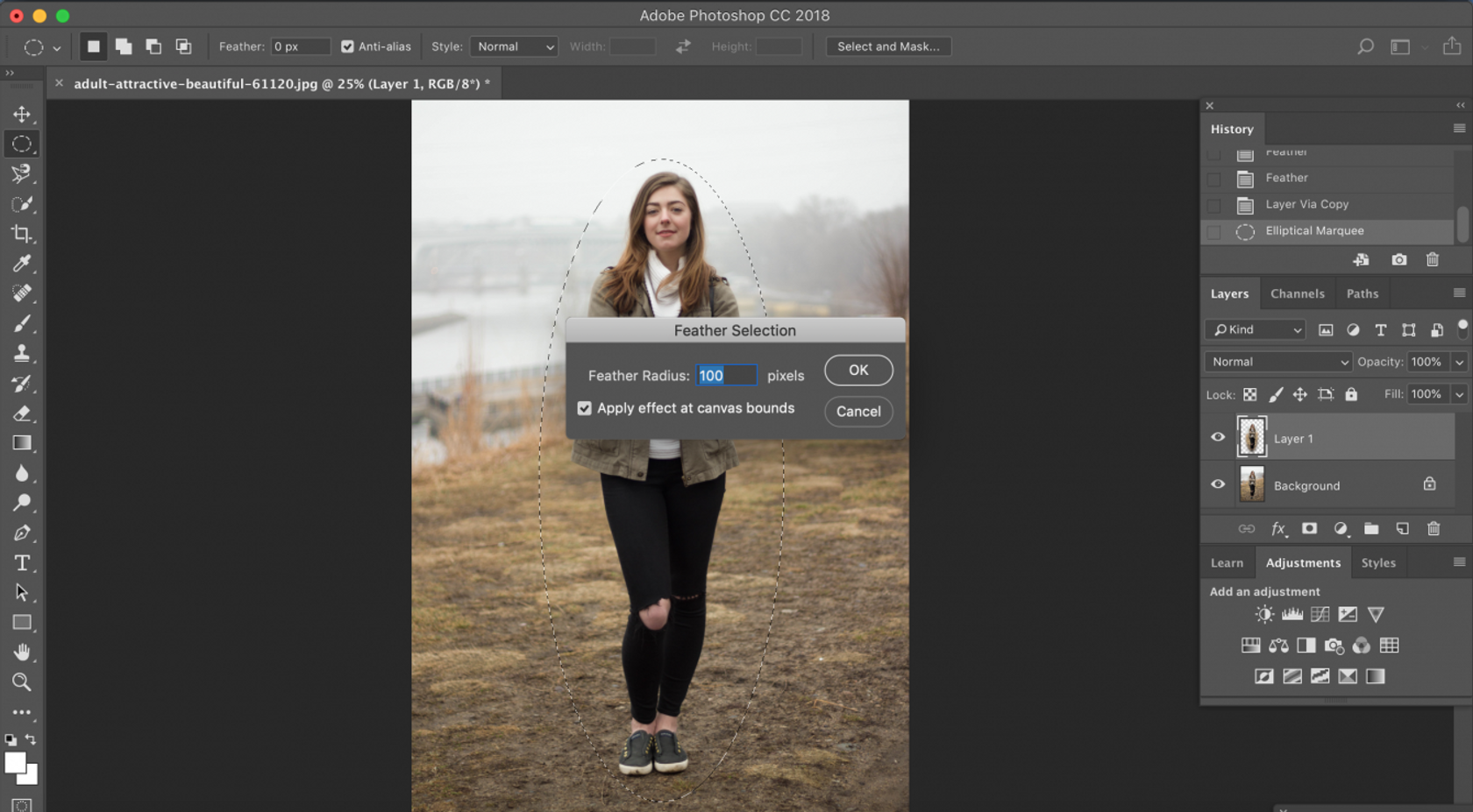 How to Smooth Edges in Photoshop: Photoshop Feather and Other Tools Image9