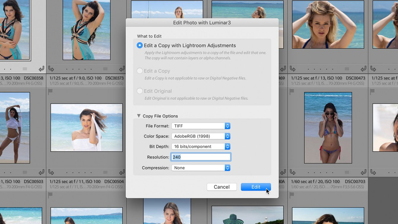 Chapter 6: Using Luminar with Adobe Lightroom Classic CC