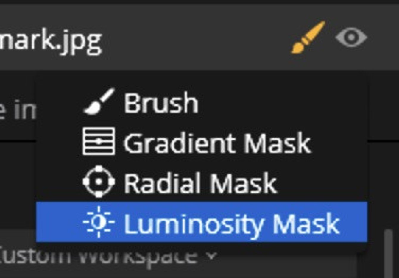 lightroom adjustment brush opacity