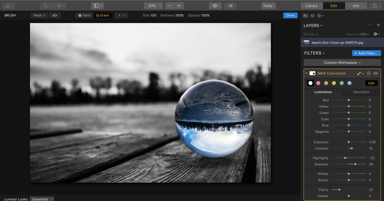 Create a Color Splash in Your Photos