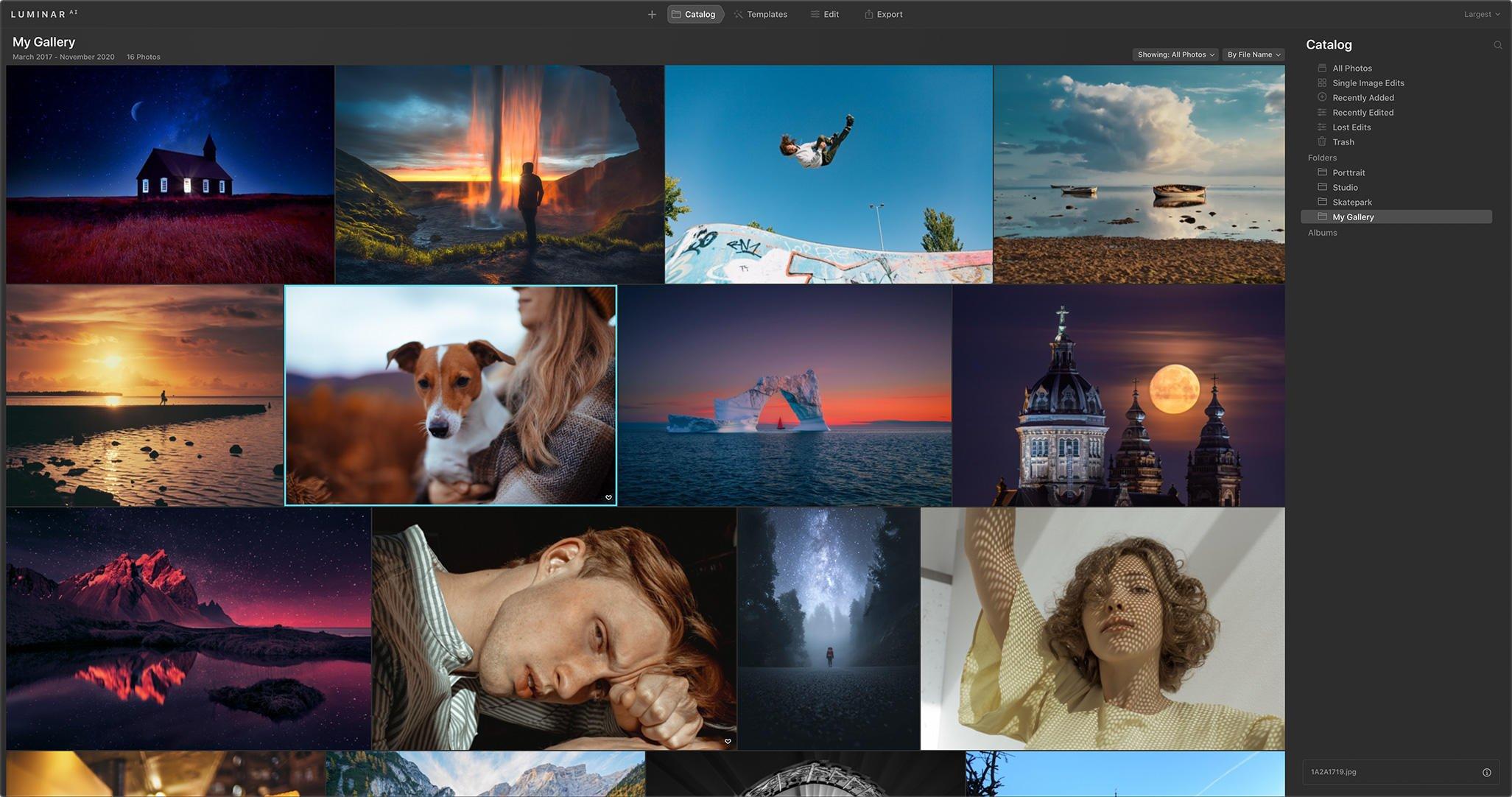 Luminar AI 1.5.0 Mac 破解版 AI照片编辑软件